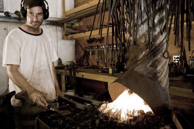 Whit Hanschka, Artist · Blacksmith