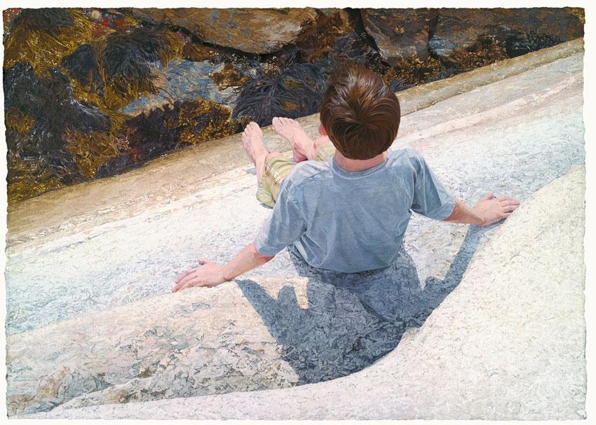 Andrew Moore —Boy On Granite