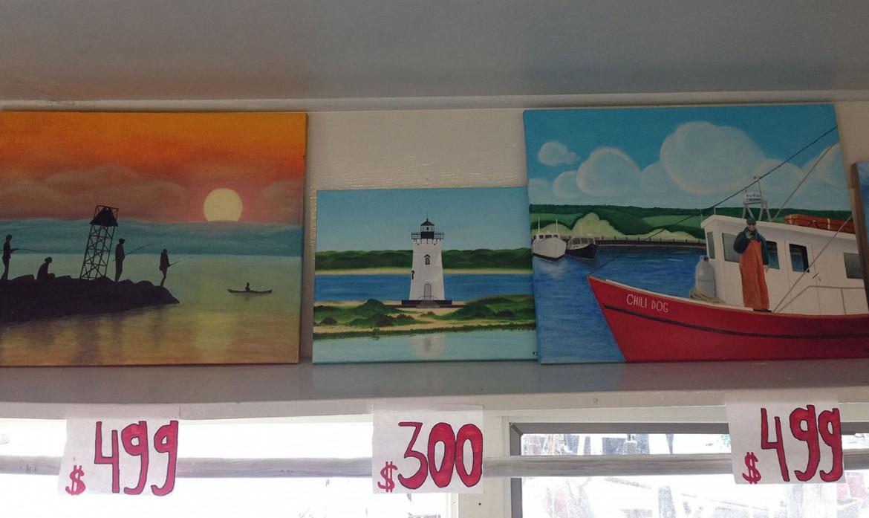 Fishmarket Paintings
