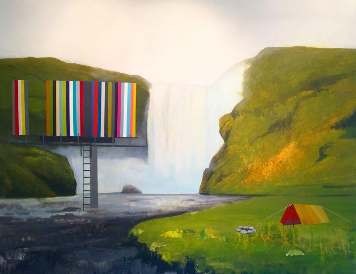 Dan VanLandingham Paints the 21st Century Landscape