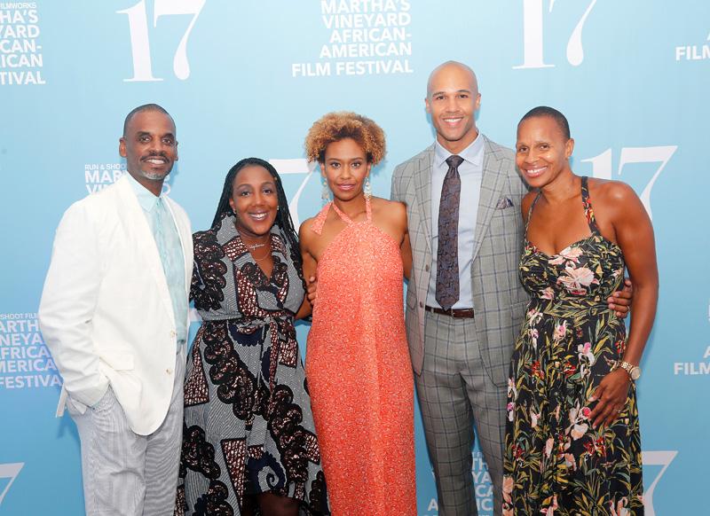 The Martha's Vineyard African-American Film Festival will return on August 6 through the 13th. This marks the festival's 19th year.         —Photo by Bernard Fairclough